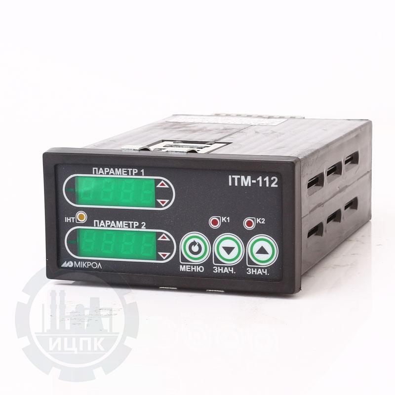Двухканальный микропроцессорный индикатор ИТМ-112 фото №1