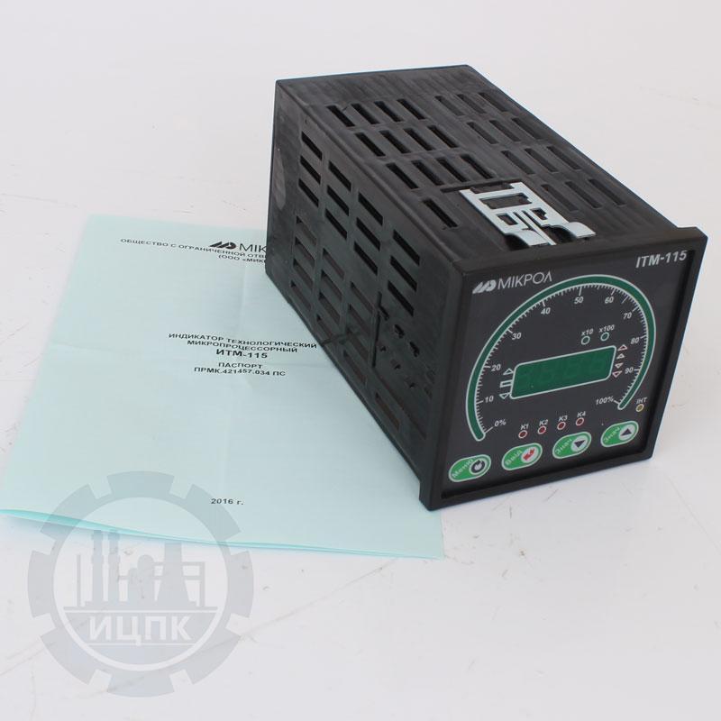 Микропроцессорный индикатор с цифровой и круговой шкалой ИТМ-115  фото №1