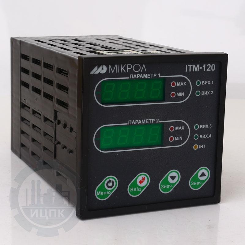 Двухканальный микропроцессорный индикатор ИТМ-120У  фото №2