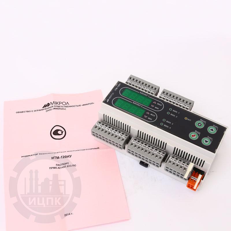 Двухканальный индикатор на DIN-рейку ИТМ-120НУ фото №3