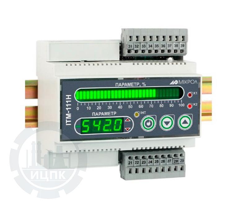 Одноканальные индикаторы на DIN-рейку ИТМ-111Н  фото №1