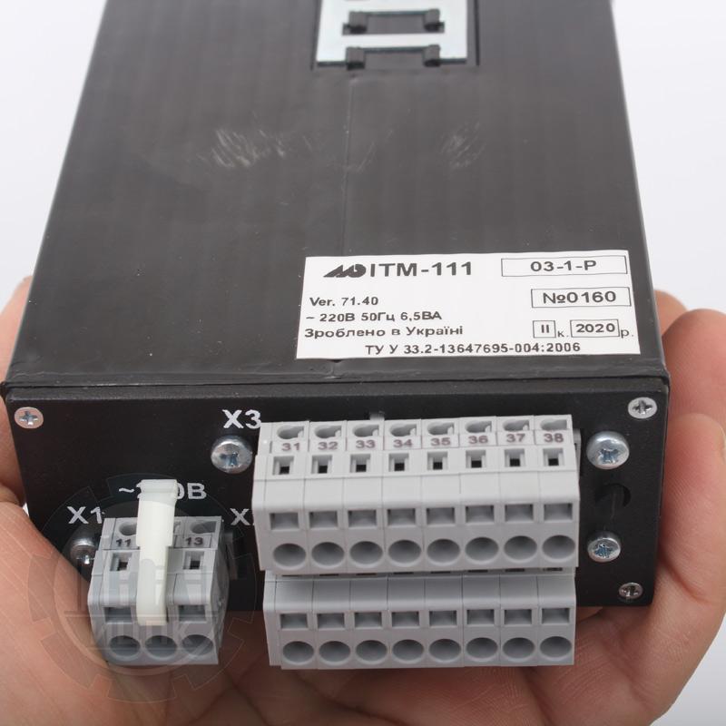 Одноканальные индикаторы с цифровой и линейной индикацией ИТМ-111(В)  фото №2