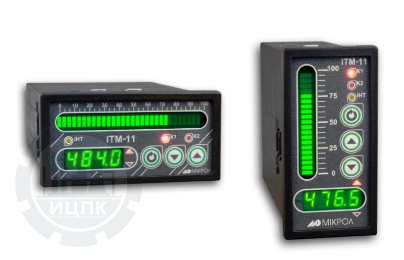 Индикатор технологический микропроцессорный ИТМ-11, ИТМ-11В фото №1