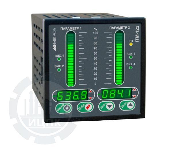 Двухканальный микропроцессорный индикатор ИТМ-122У  фото №1