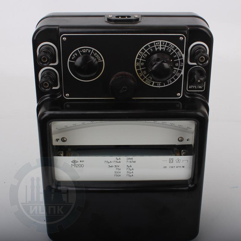 М1200 микроамперметр стрелочный фото №2