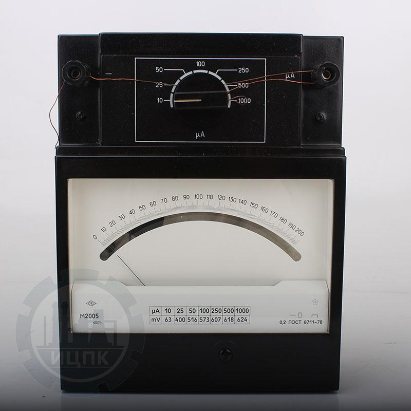 Милливольтмикроамперметр М2005 (М109) фото №4