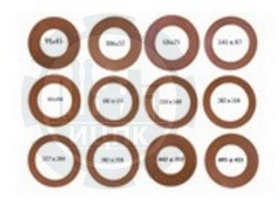 Прокладки уплотнительные биконитовые для фланцев фото №1